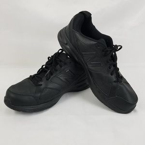 New Balance Mens Black Size 14 2E Wide